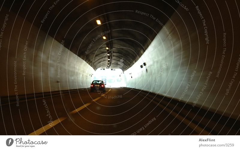 Tunnel Photographic technology