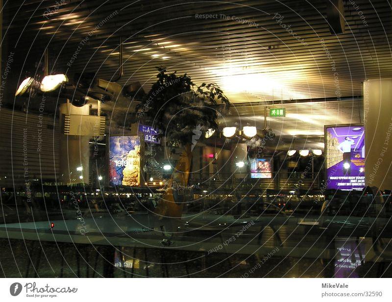 Airplane Level Mirror Airport Deep Transparent