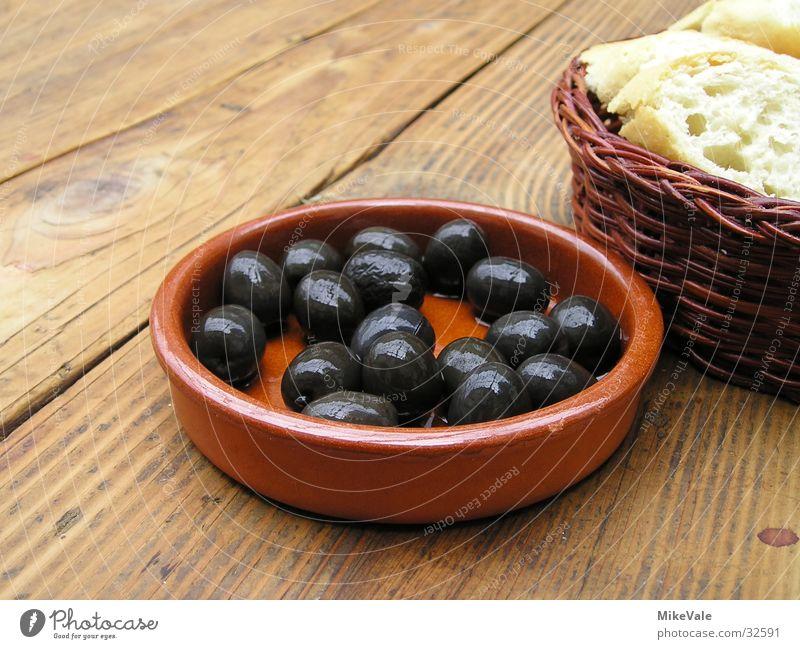 Nutrition Cold Table Bread Olive Rustic Vegetarian diet Baguette Appetizer Tapas