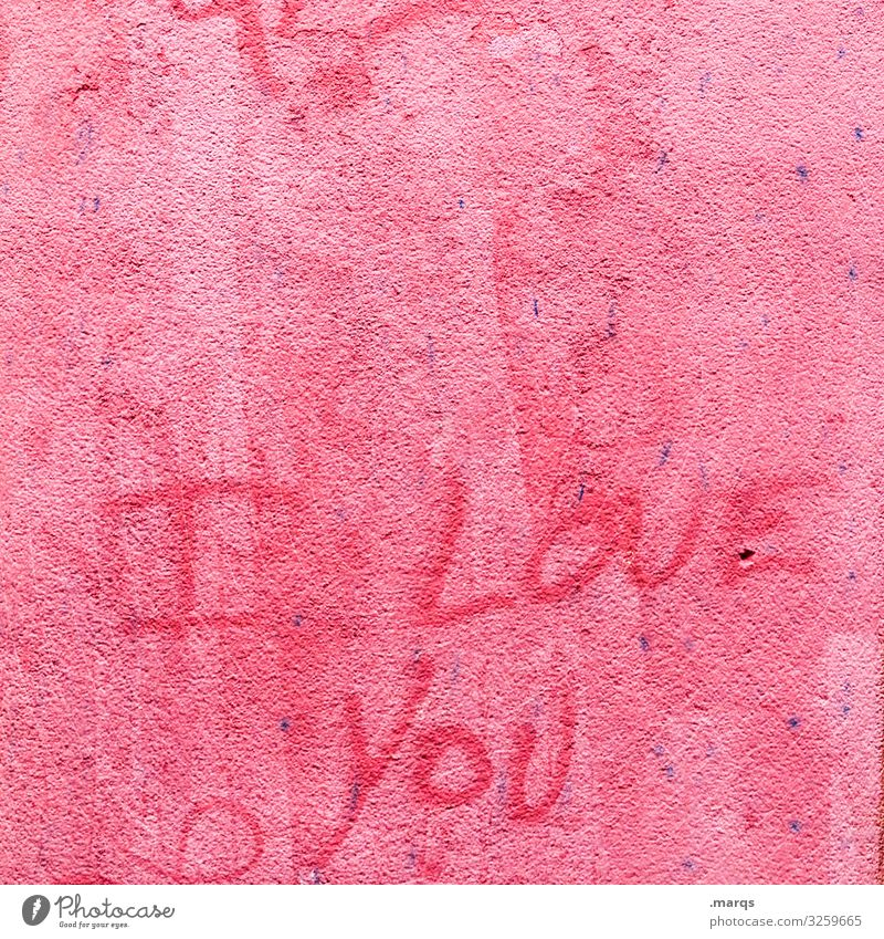 Red Graffiti Wall (building) Love Wall (barrier) Characters Declaration of love