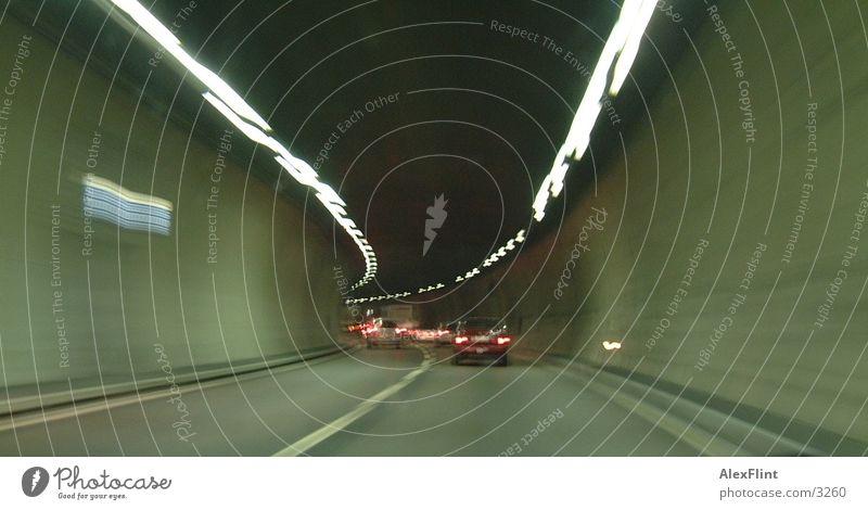 Switzerland Highway Tunnel Photographic technology