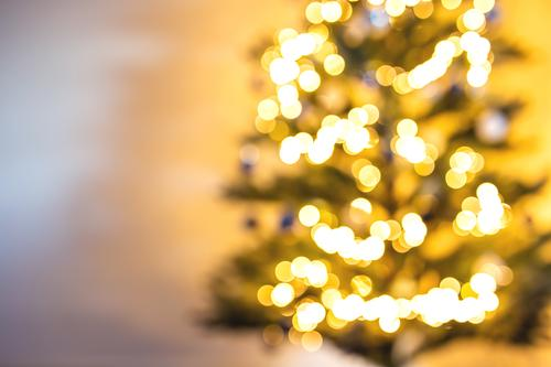 Christmas tree blurred and defocused light background Design Happy Winter Snow Decoration Wallpaper Feasts & Celebrations Christmas & Advent Tree Glittering