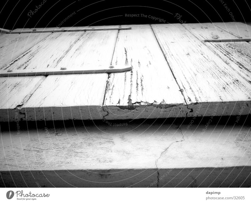 windows Flap Window Way out Barn Architecture B/W Old