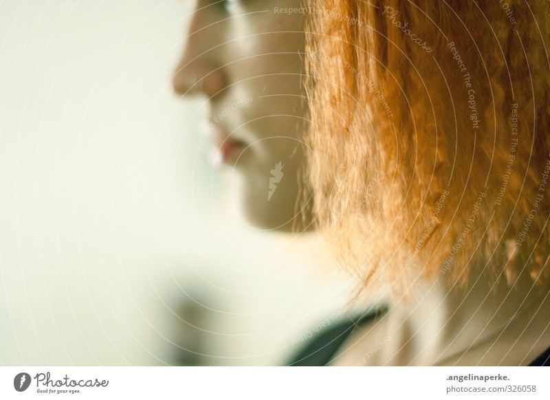 Hair and hairstyles Orange Partially visible Crêpe
