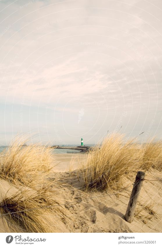 Sky Nature Green Water Plant Ocean Landscape Clouds Beach Environment Grass Coast Sand Germany Elements Fence