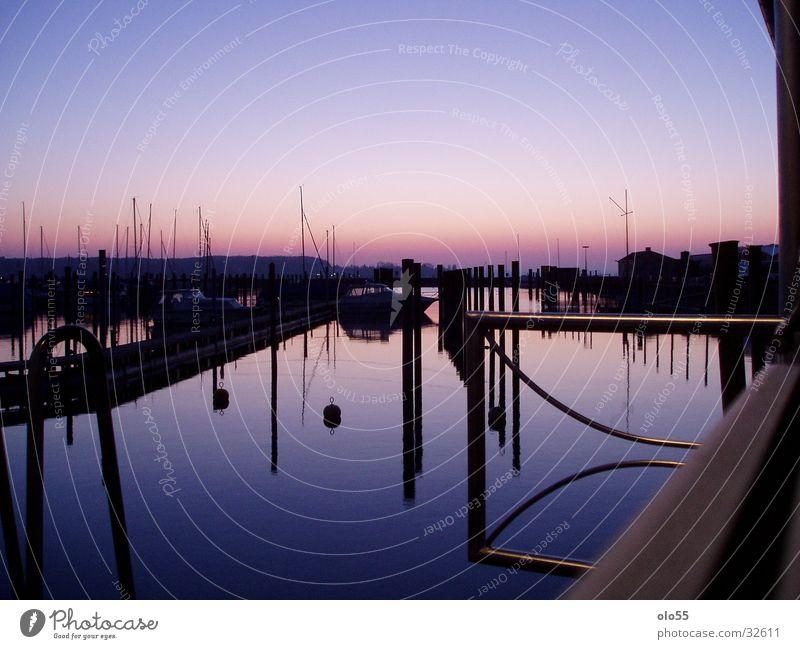 Silence III Watercraft Violet Morning Sunrise Harbour