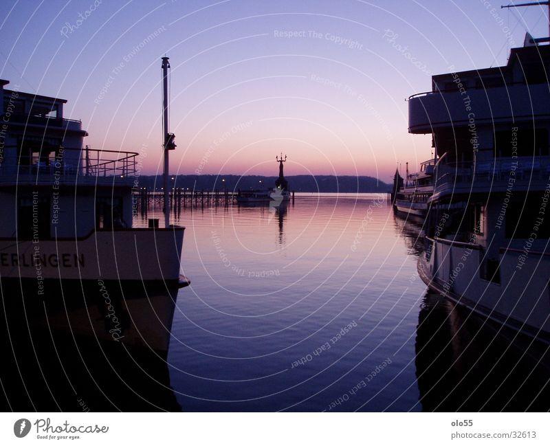 Silence I Sunrise Violet Watercraft Imperia Harbour Shadow