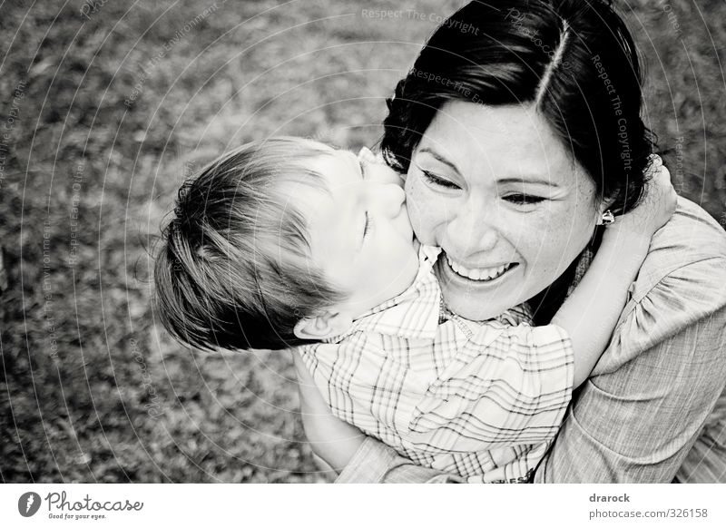 I love you mommy Human being Child Toddler Boy (child) Woman Adults Mother Infancy 2 Embrace Happiness Beautiful Love Authentic drarock Son Black & white photo
