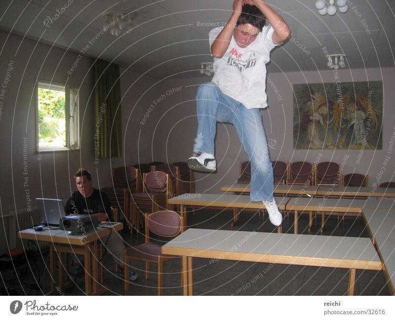 Man Jump Air