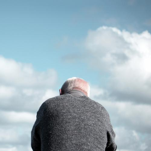 . Human being Masculine Man Adults Male senior Senior citizen Body Hair and hairstyles 1 60 years and older Sky Clouds Beautiful weather Clothing Sweater