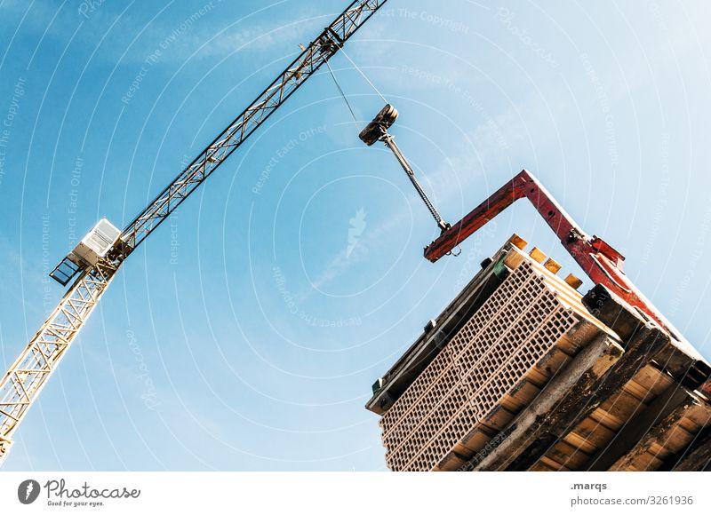 structural engineering Crane Sky Weight Industry Heavy Lift Work and employment Economy Construction site Workplace Build Leverage Beautiful weather