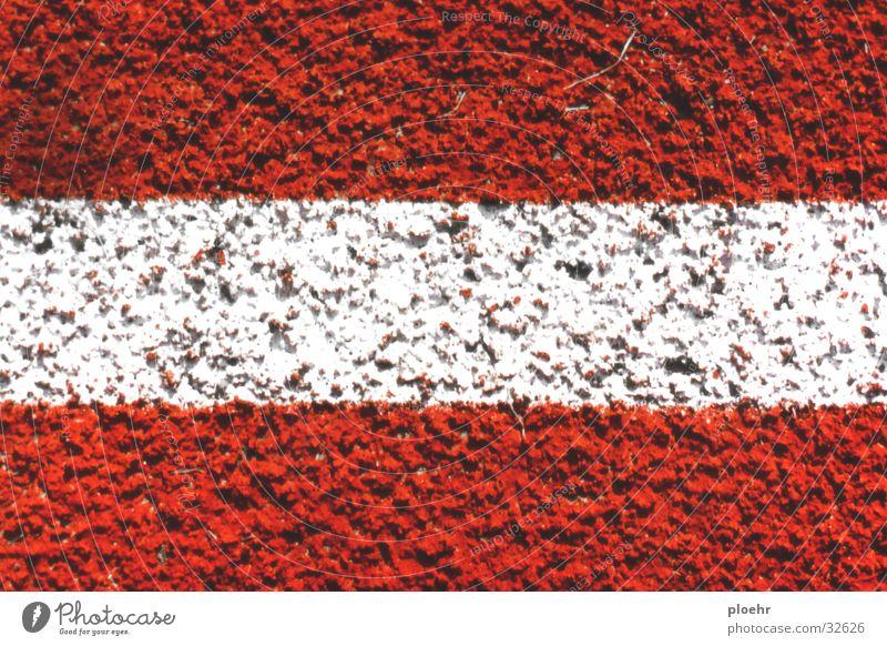 SportStreifen Places Stripe Red White Striped Austria Sports Railroad