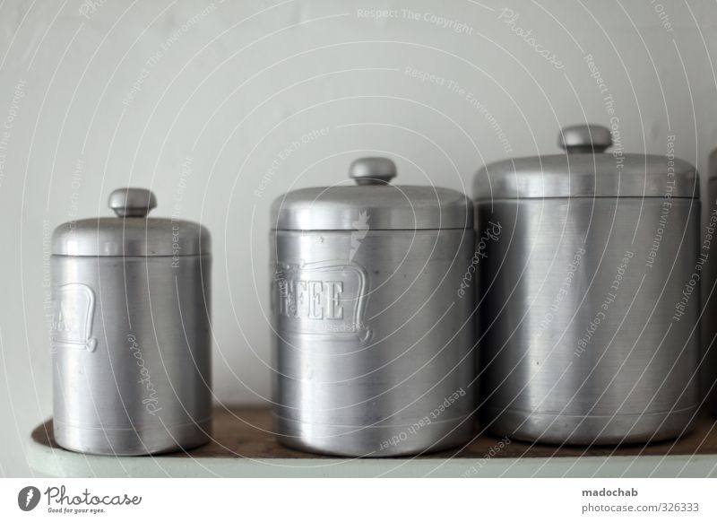 boxboxbox - several cans for storage kitchen Moving (to change residence) Arrange Decoration Kitchen Packaging Tin Container Cold Clean Gloomy Silver Judicious