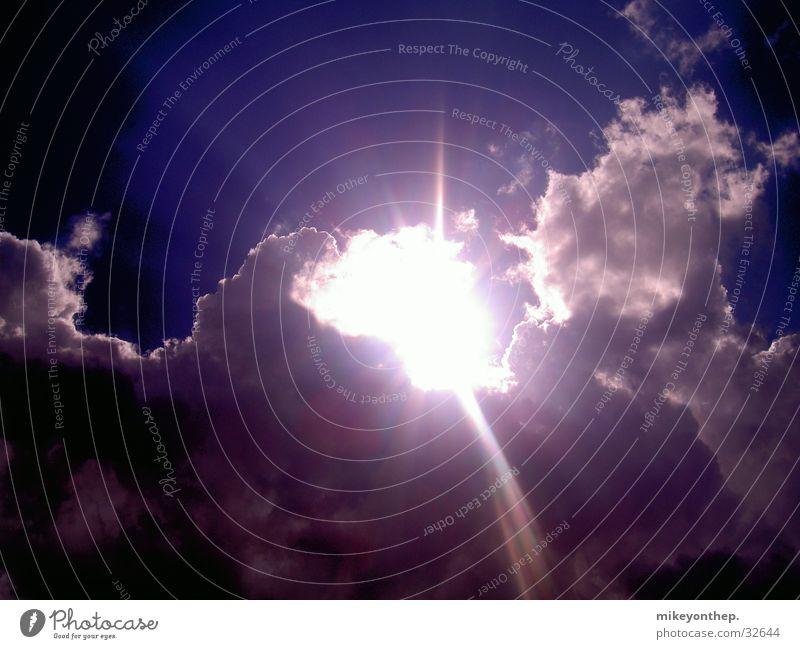 Sky Sun Blue Clouds Lighting Illuminate