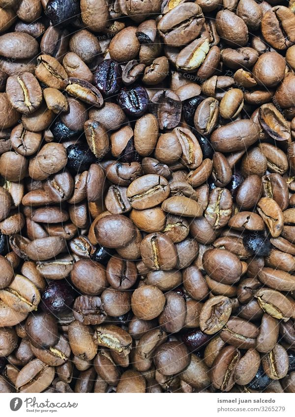 roasted coffee beans background Coffee Beans Coffee bean Background picture Consistency Pattern Roasted Brown