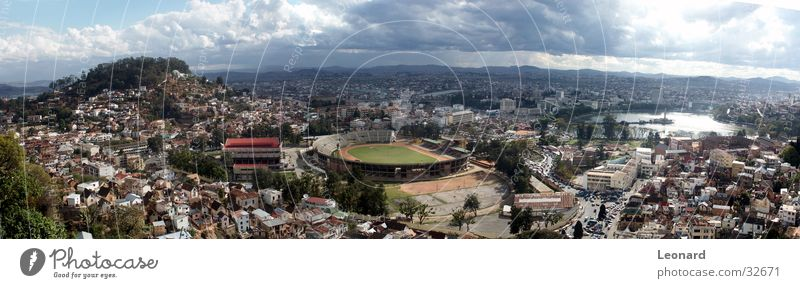 Antananarivo 2 Town Panorama (View) Building House (Residential Structure) Hill Clouds Sunset Tree Palace Horizon Lake Park Africa Moral Mountain stage Large