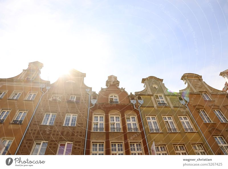 Historic Gdansk Vacation & Travel Sightseeing House (Residential Structure) Facade Authentic Uniqueness Gdánsk Poland Historic Buildings Old town Mariacka