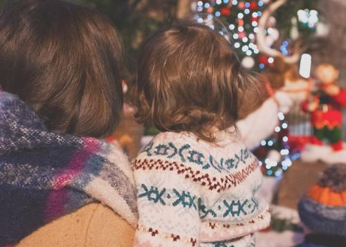 Family Christmas time Lifestyle Luxury Elegant Vacation & Travel Trip Adventure Feasts & Celebrations Christmas & Advent Human being Child Baby Toddler Girl