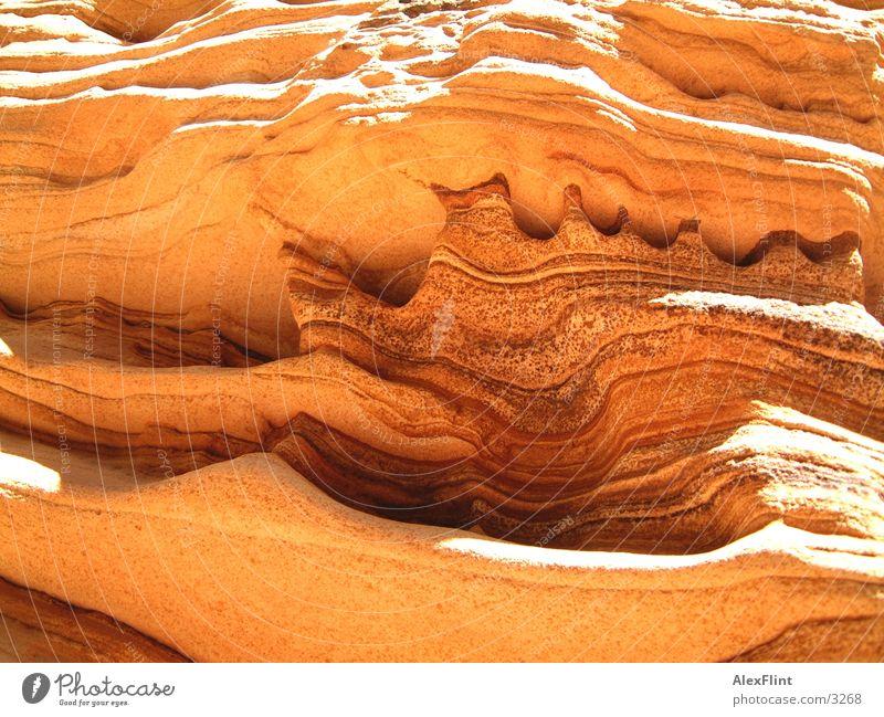 melted Melt Flow Stone petrified