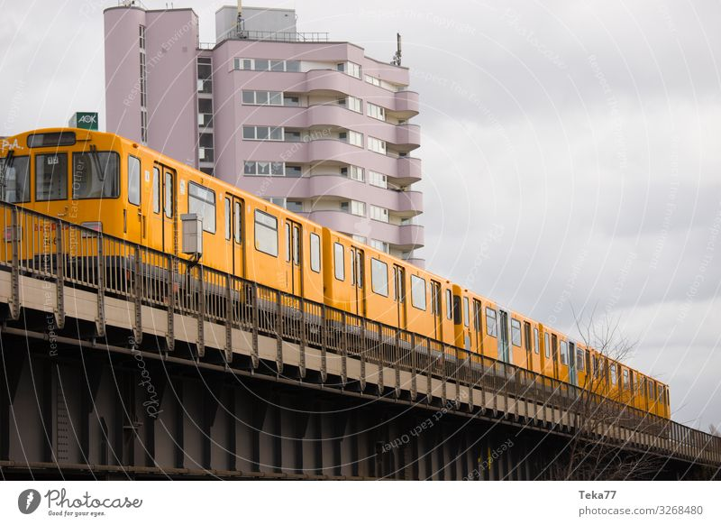 #Berlin tram Transport Means of transport Traffic infrastructure Rail transport Train travel Mono rail Commuter trains Esthetic Downtown Berlin Colour photo