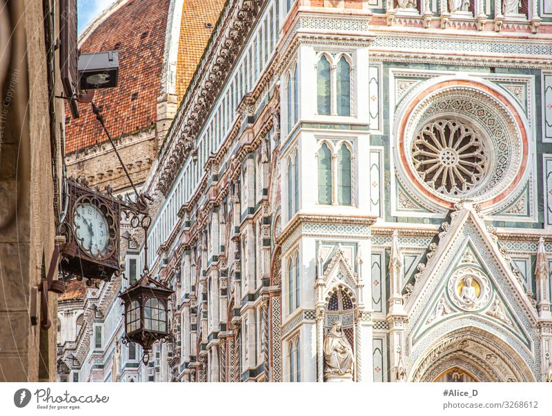 Duomo Santa Maria del Fiore Florence Vacation & Travel Tourism Sightseeing City trip Art Architecture Culture Italy Europe Town Capital city Church Dome