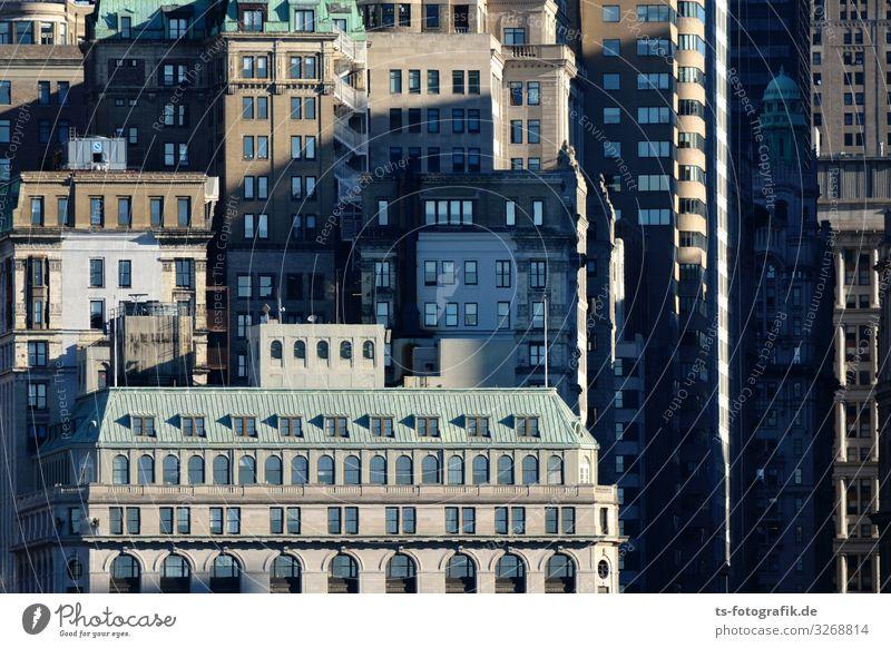 Too much city flattens the horizon New York City Manhattan Financial District Financial District Manhattan USA Downtown Skyline House (Residential Structure)