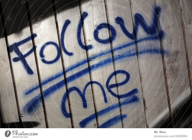 follow me Sign Characters Blue Following Find Search Society Reaction Right ahead Orientation Disorientated Underline Daub Figure of speech Detail Deserted