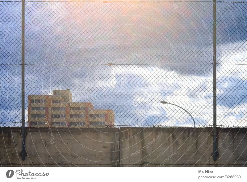 City of blinding Lights Sky Clouds Climate Weather Town Skyline House (Residential Structure) High-rise Manmade structures Building Architecture Wall (barrier)