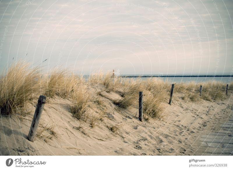 Sky Nature Beautiful Water Landscape Ocean Clouds Beach Environment Lanes & trails Coast Grass Germany Sand Horizon Joie de vivre (Vitality)