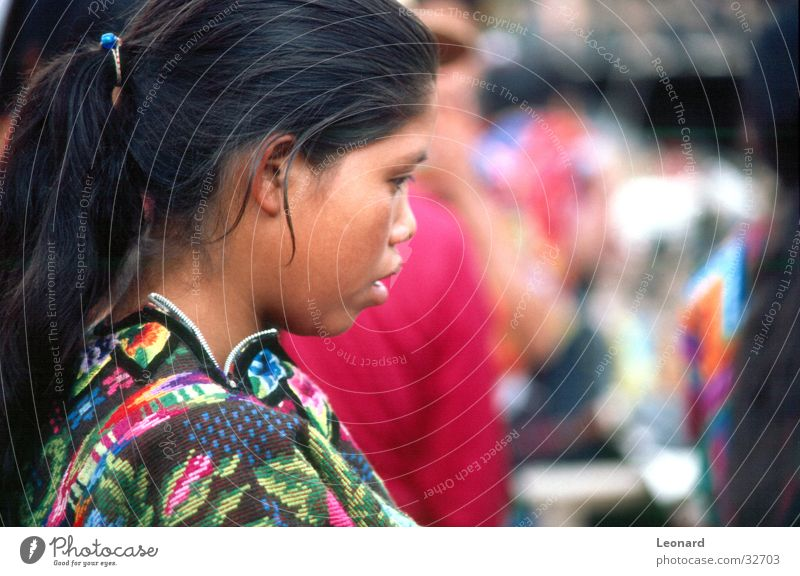 Woman Human being Child Girl Colour South America Central America Guatemala