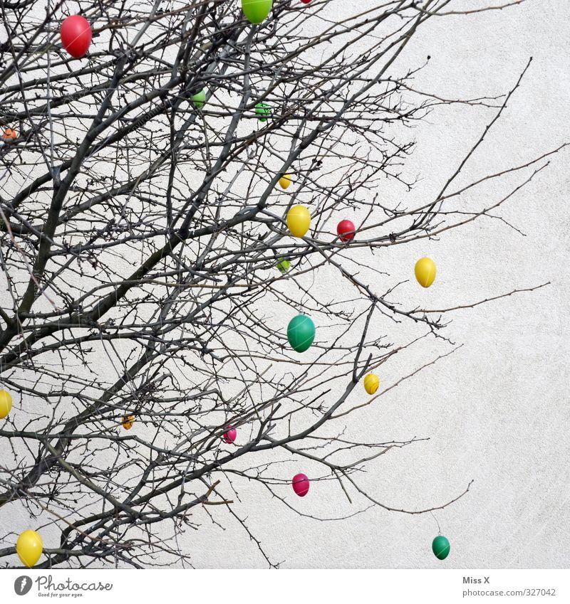 Tree Spring Bushes Decoration Branch Easter Twig Hang Easter egg