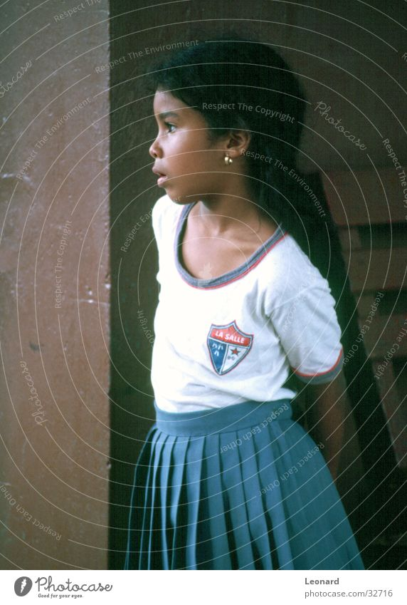 view Child Girl University & College student Panama Sun Looking School sigh high school pupil education latin america