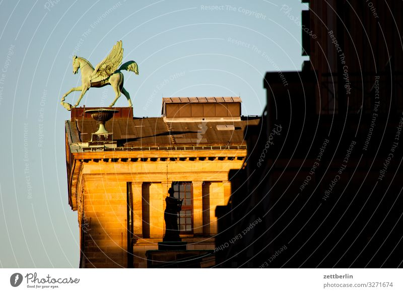 Pegasus Architecture Berlin Office City Germany Gendarmenmarkt Capital city House (Residential Structure) Sky Heaven Downtown Downtown Berlin pegasus Skyline