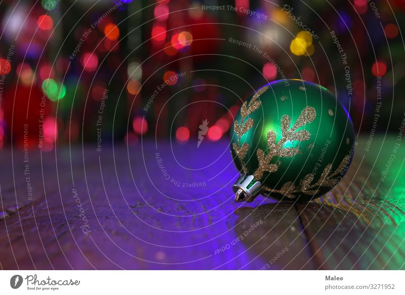 Christmas bauble Christmas & Advent Background picture Sphere Beautiful Blur Feasts & Celebrations Close-up Crystal December Decoration Design Detail Festive