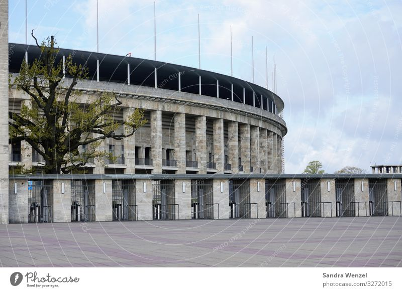 Olympia Stadium Berlin Germany Swimming pool Manmade structures Building Architecture Wall (barrier) Wall (building) Facade Tourist Attraction Olympic stadium