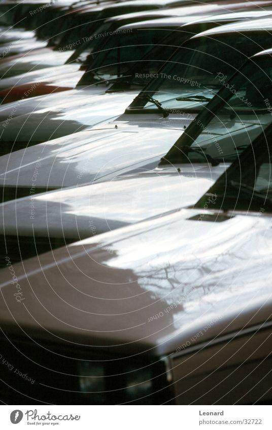 standstill Gray Carriage Transport Reflection parking