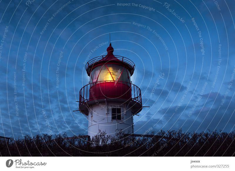Blue White Black Yellow Illuminate Beautiful weather Safety Hope Lighthouse Rescue