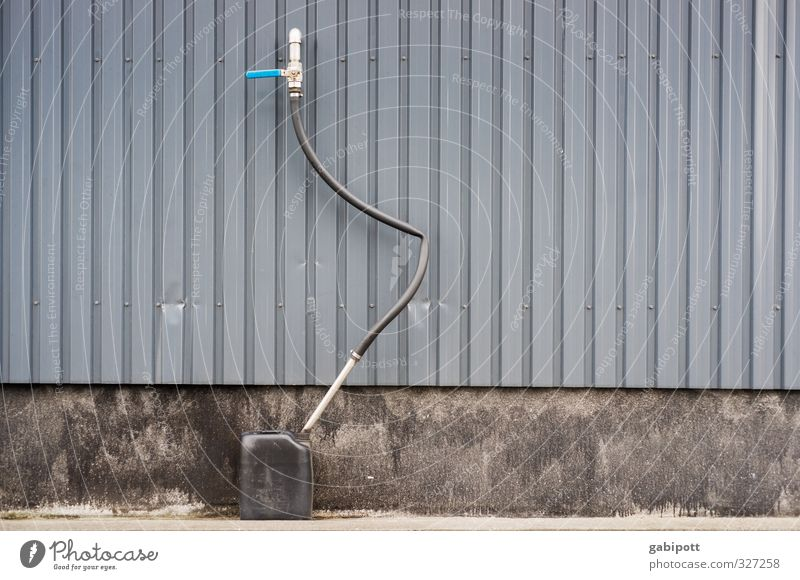 Rømø | Refuel. Wall (barrier) Wall (building) Facade Blue Gray Contentment Competition Mobility Arrangement Perspective Logistics Canister Hose Line Graphic Tap