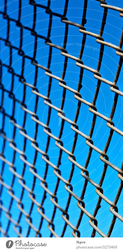 abstract texture of a metal grid surface Design Internet Sky Building Metal Steel Rust Line Old Dirty Dark Blue Gray Black White Colour Perspective background