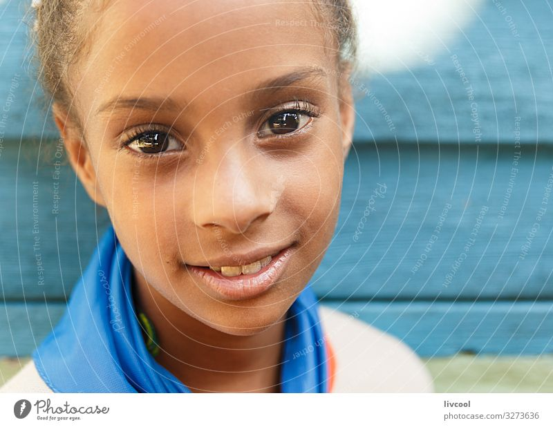smiling pretty girl II , cuba Woman Child Human being Vacation & Travel Blue Beautiful Black Face Street Eyes Lifestyle Adults Feminine Emotions Happy