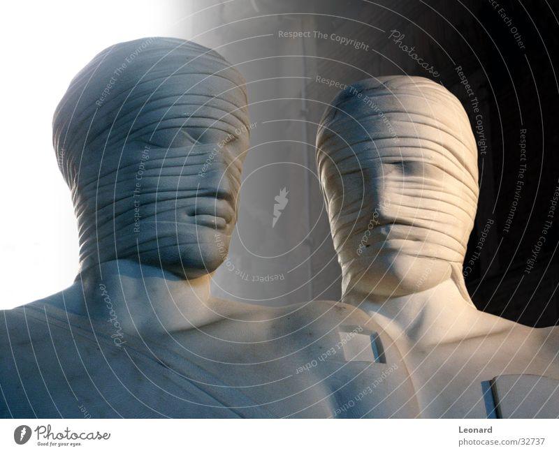 Human being Man Face Stone Building Art Statue Craft (trade) Historic Sculpture Rome Exhibition Death's head Sculpture