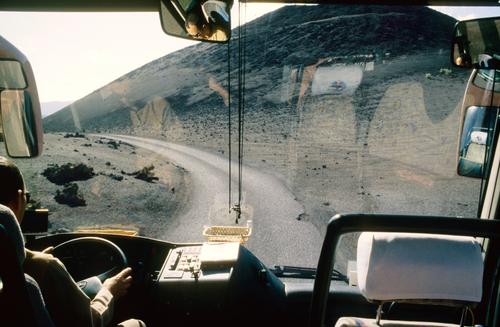 Nature Landscape Environment Work and employment Logistics Profession Driving Window pane Steering wheel Bus travel