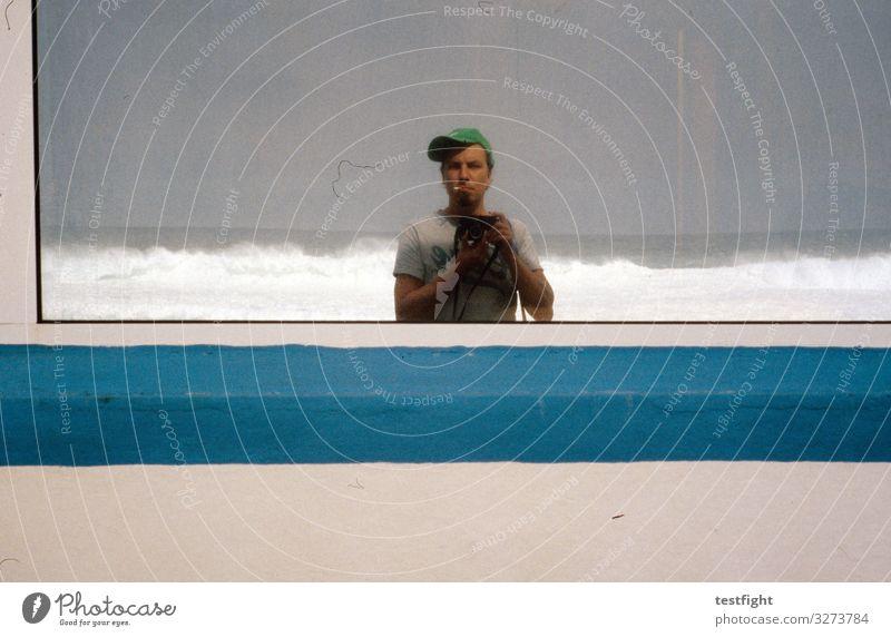 Human being Nature Blue Beach Environment Masculine