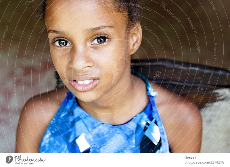 pretty cuban girl II , cuba Woman Child Human being Vacation & Travel Blue Beautiful Joy Girl Black Face Street Eyes Lifestyle Adults Feminine