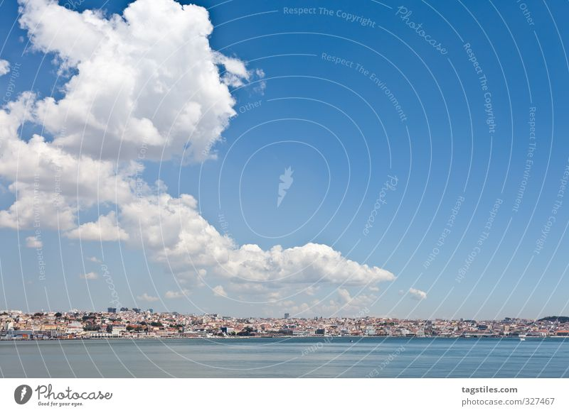 Vacation & Travel City Calm Relaxation Freedom Travel photography Leisure and hobbies City life Idyll Tourism Card Paradise Heavenly Capital city Portugal