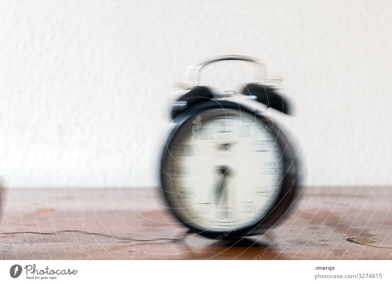 WAKE UP, WAKE UP! Flat (apartment) Alarm clock Clock Beginning Time Wake up Morning Arise Early riser Work and employment Colour photo Interior shot Deserted