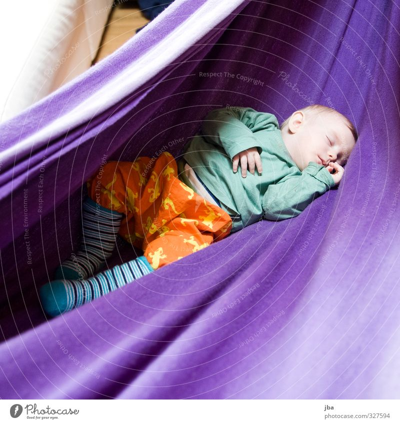 recreation Well-being Contentment Relaxation Calm Hammock Human being Feminine Child Baby Toddler Girl 1 0 - 12 months Hang Lie To swing Sleep Dream Happy