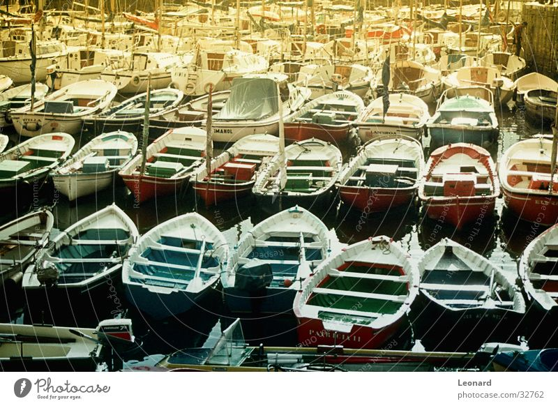 boats Watercraft Ocean Reflection Port Navigation Harbour Sun Colour color
