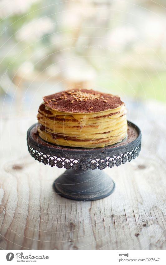 Nutrition Sweet Delicious Candy Cake Chocolate Gateau Dessert Crêpe Cake plate