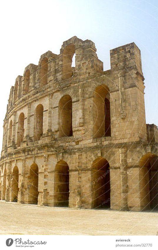 fax Sfax Tunisia Colosseum Building Historic Rome Italy Architecture Römerberg Theatre